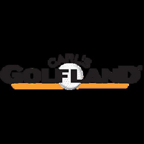JoFit Womens Sleeveless Cutaway Michigan State Golf Polo Cabernet Stripe