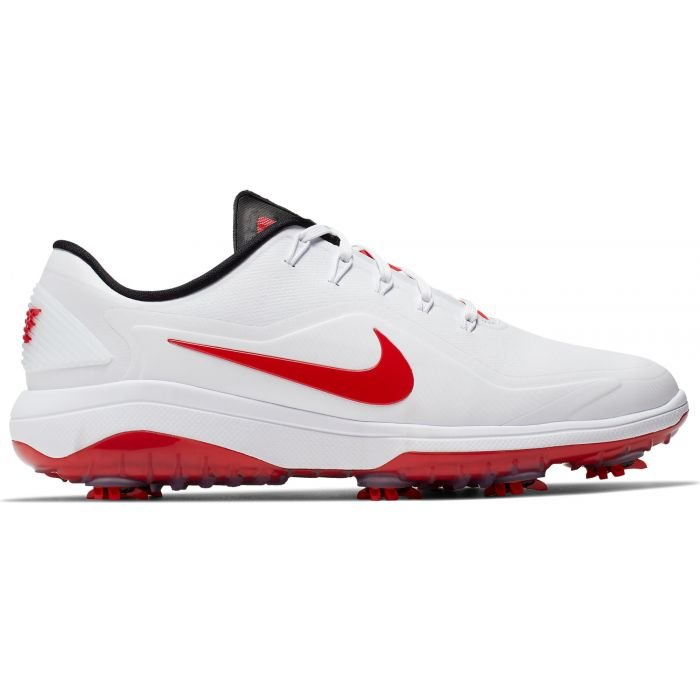 Nike React Vapor 2 Golf Shoes White/Red - Carl's Golfland