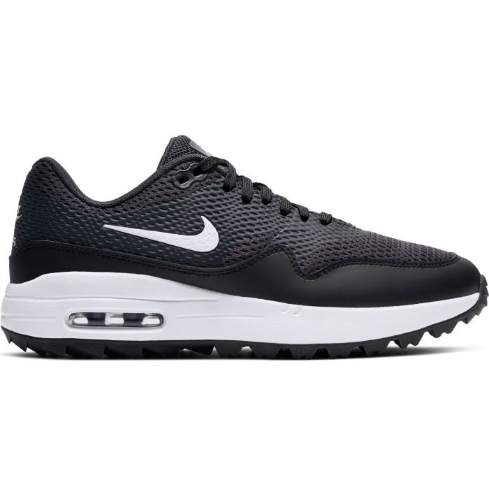 Nike Women's Air Max 1 G Golf Shoes Black/White/Anthracite ...