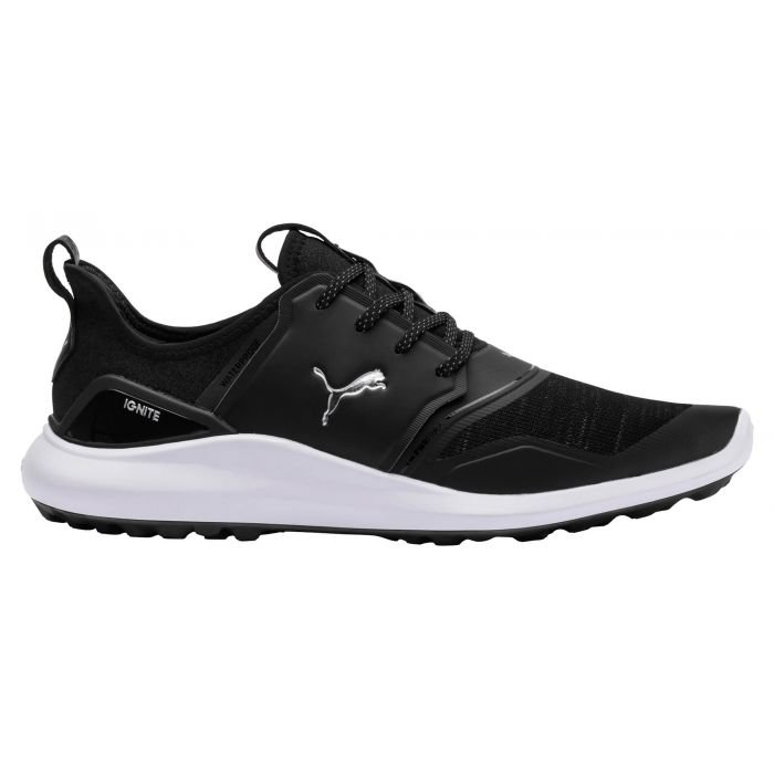 PUMA IGNITE NXT Lace Golf Shoes Black/Silver/White - ON SALE