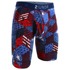 2UNDR Swing Shift 9 Inch Long Leg Boxer Briefs