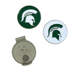 Michigan State Hat Clip And Ball Markers