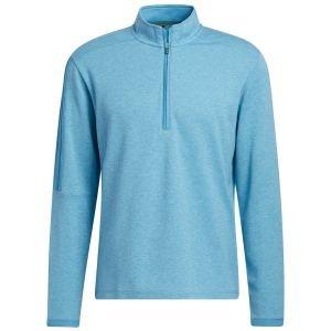 adidas 3-Stripes Quarter-Zip Golf Pullover