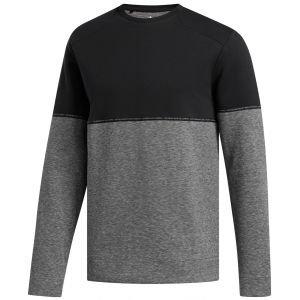 Adidas Adicross Fleece Crew Sale Clearance Black Mens