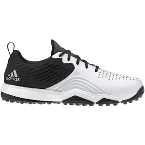 adidas Adipower 4orged S Spikeless Golf Shoes Black/White