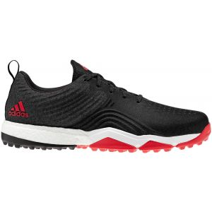 adidas Adipower 4orged S Spikeless Golf Shoes Black/Red/White