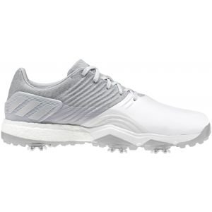 adidas Adipower 4orged Golf Shoes Onix/Silver/White