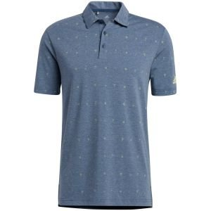 adidas Allover Print Primegreen Golf Polo Shirt