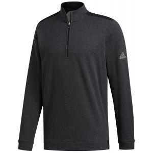 adidas Club Heather 1/4 Zip Golf Pullover - ON SALE