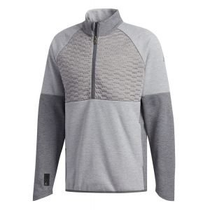 Adidas Frostguard Quilted Competition 1/4 Zip Golf Pullover