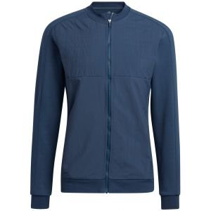 adidas Go-To Recycled Content Quilted Full-Zip Golf Jacket