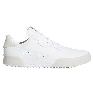 Adidas Junior Adicross Retro Golf Shoes White