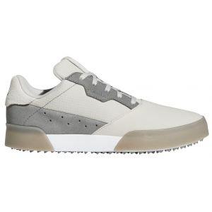 adidas Junior Kids Adicross Retro Spikeless Golf Shoes Grey/White/Grey