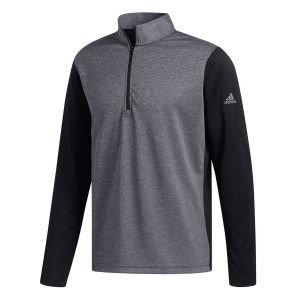 Adidas Lightweight UPF 1/2 Zip Golf Pullover