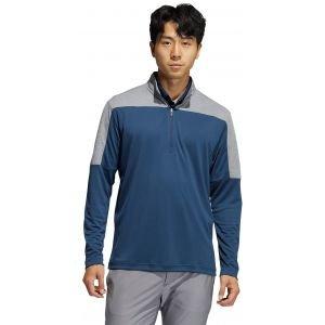 adidas Lightweight UV Quarter-Zip Golf Pullover Sweatshirt