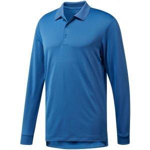 Adidas Long Sleeve Performance Golf Polo