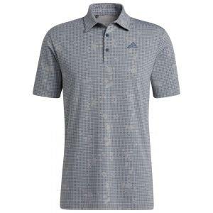 adidas Night Camo-Print Primegreen Golf Polo Shirt