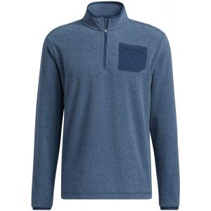 adidas Primegreen Pocket 1/4 Zip Golf Pullover