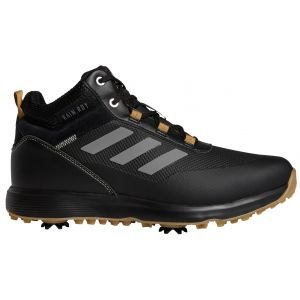 adidas S2G Recycled Polyester Mid-Cut Golf Shoes Core Black/Grey Four/Mesa