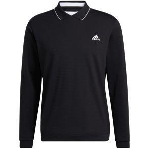 adidas Thermal Primegreen Long Sleeve Golf Polo Shirt