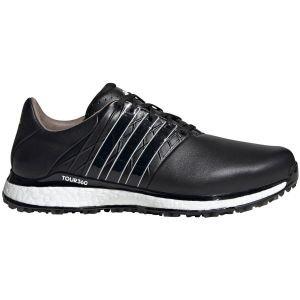 adidas Tour360 XT-SL 2 Golf Shoes Black/Black/White 2020