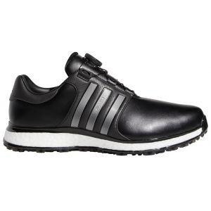 adidas Tour360 XT Spikeless Boa Golf Shoes Core Black/Iron Metallic/Cloud White