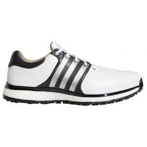 Adidas Tour360 XT Spikeless Golf Shoes White/Silver/Black 2020