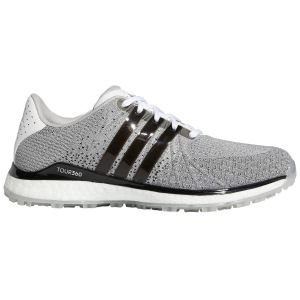 adidas Tour360 XT-SL TEX Spikeless Golf Shoes White/Black/Grey