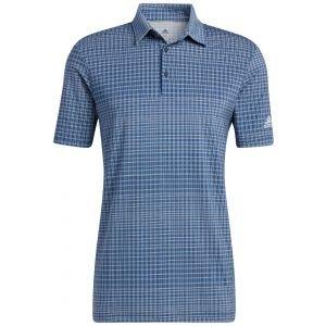 adidas Ultimate365 Allover Print Primegreen Golf Polo Shirt