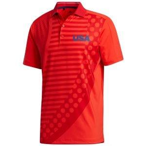 adidas USA Golf Polo