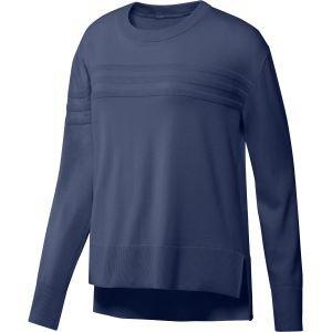 adidas Womens 3-Stripes Golf Sweater - ON SALE