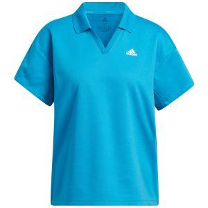 adidas Women's 3-Stripes Primegreen Golf Polo Shirt