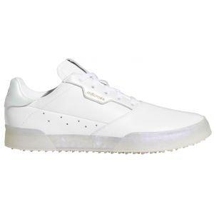 adidas Womens Adicross Retro Spikeless Golf Shoes White/White/Mint