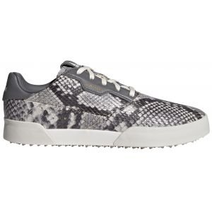 adidas Womens Adicross Retro Spikeless Golf Shoes White/Grey/White