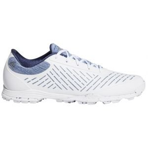 Adidas Womens Adipure Sport 2.0 Golf Shoes White/Silver/Indigo 2020