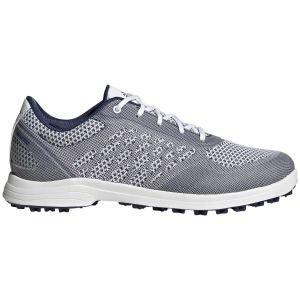 adidas Womens Alphaflex Sport Spikeless Golf Shoes White/Indigo/Savannah