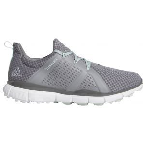 Adidas Womens Climacool Cage Golf Shoes Grey/Green/Grey 2020