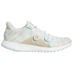 Adidas Womens Crossknit DPR Golf Shoes White/Green/White 2020