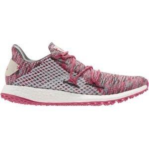 adidas Womens Crossknit DPR Golf Shoes Grey/Pink/Pink
