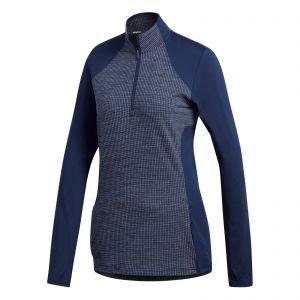 adidas Womens Half-Zip Knit Golf Jacket