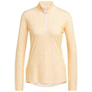 adidas Women's Primegreen AEROREADY Long Sleeve Golf Shirt