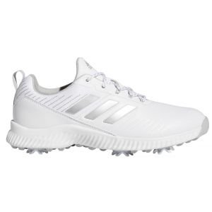 Adidas Womens Response Bounce 2.0 Golf Shoes White/Silver/Grey