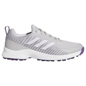 Adidas Womens Response Bounce SL Golf Shoes White/Purple/Grey