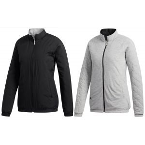 adidas Womens Reversible Quilted Golf Jacket