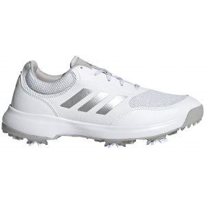 adidas Womens Tech Response 2.0 Golf Shoes White/Silver/Grey