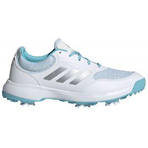 adidas Womens Tech Response 2.0 Golf Shoes White/Silver/Sky