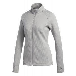adidas Womens Textured Layer Golf Jacket