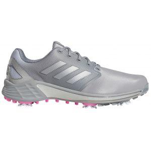 adidas ZG21 Golf Shoes Grey/Silver/Pink
