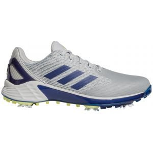 adidas ZG21 Motion Primegreen Golf Shoes 2021 - Grey Two/Victory Blue/Pulse Yellow