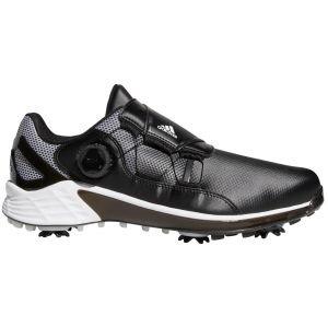 adidas ZG21 Boa Golf Shoes Black/White/Grey